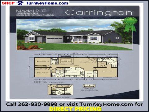 RochesterHomesRanchCarringtonR171560SFP0206181480x360jpg – Modular Home Floor Plans And Prices