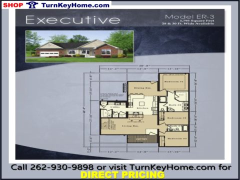 Turnkeyhome excecutive ranch style home 3 bed 2 bath plan 1795 sf priced from rochester homes modular plan designs list 130317 direct 106623 save 23694 malvernweather Image collections