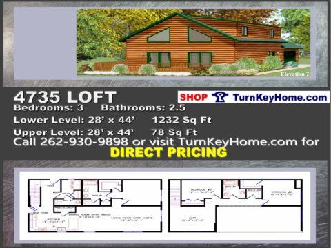 WisconsinHomesChaletModular PlanPrice4735LoftElevation23Bed25BathP0221181480x360jpg – Chalet Home Plans Modular