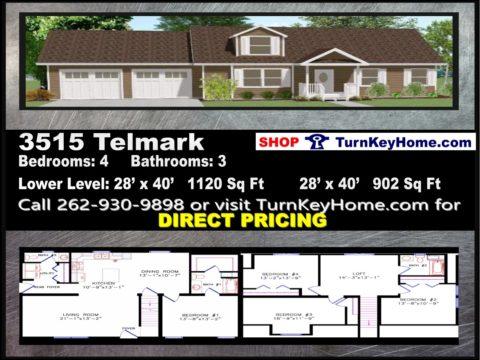 WisconsinHomesPlanPriceModular CapeCod3515Telmark4Bed3BathP0216184480x360jpg – Modular Home Floor Plans And Prices
